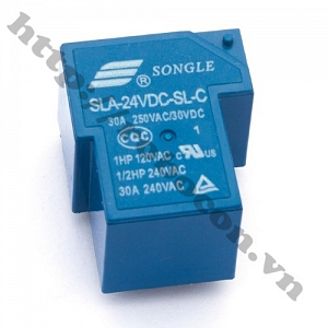 RE17 RELAY 24VDC -  30A LOẠI ...