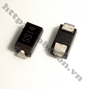 DO54 Diode Schottky SS14 1A 40V (1N5819 ...