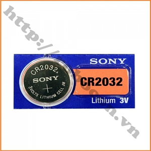 PPKP137 Pin CR2032 Sony Lithium, Pin Cmos 3V