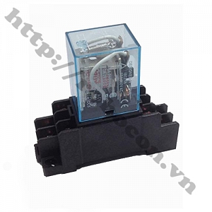 RE21 Relay Trung Gian Omron 12V 10A ...