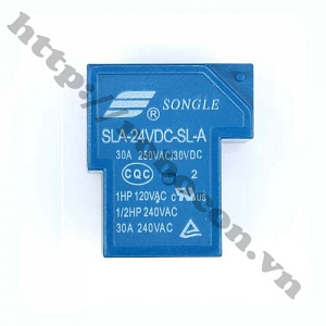 RE17 RELAY 24VDC -  30A SLA-24VDC-SL-A ...