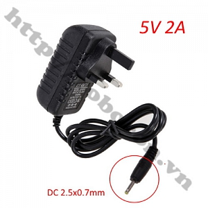 NG97 Adapter 5V 2A Jack 2.5x0.7MM Loại ...