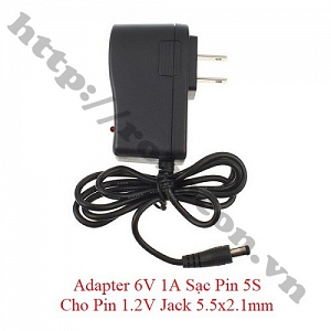 NG112 Adapter 6V 1A Sạc Pin 5S ...